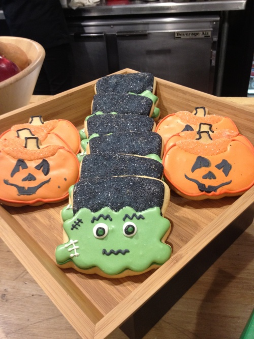 SPOTTED! Halloween Cookies at Usdan Cafe